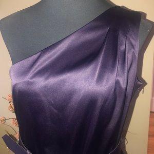 AGB one shoulder formal dress.